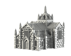 Cathedral 3D printable model