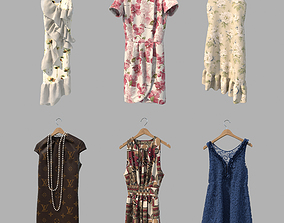 3D Dress on Hanger 5