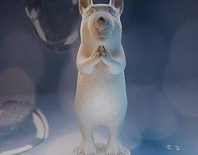 Meditation dog 3D print model
