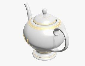 Teapot 3D model VR / AR ready