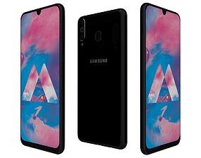 3D model Samsung Galaxy M30 Stainless Black