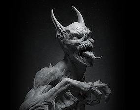 3D print model ManBat Statue