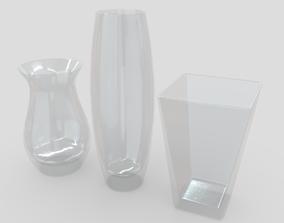 Vases 3D model VR / AR ready PBR
