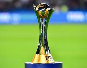 fifa club world cup trophy 3D model