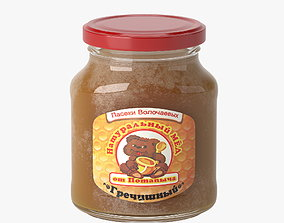 3D model Buckwheat honey jar
