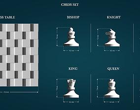 3D printable model Chess Set king