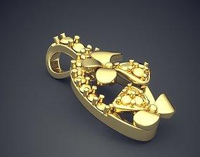 Pendant CAD-6896 3D printable model