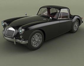 3D model MG MGA Coupe