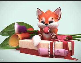 Nice Fox 3D print model