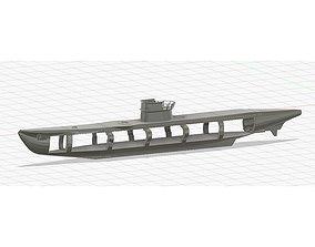 3D printable model U-boot