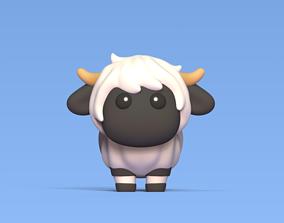 Blacknose Sheep 3D printable model