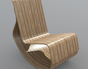 3D model Rocking Chair 2