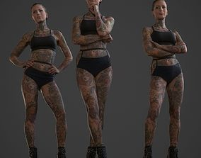 Tattoo Model Collection realtime
