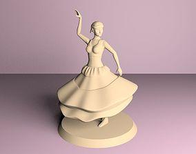 gypsy dancer 3D printable model