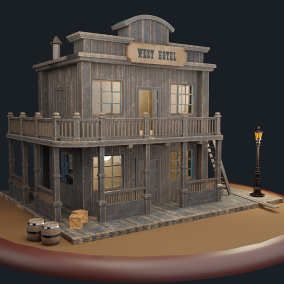 Does this look like an old saloon from the wild West?