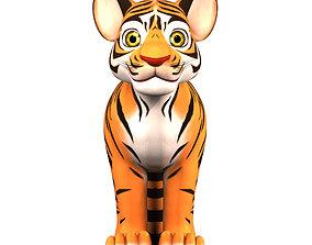 realtime Cartoon Tiger 3D