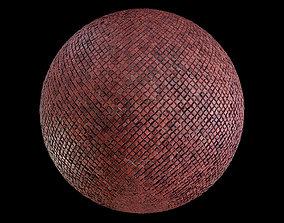Red mosaic tile 3D model