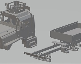 Medium Tactical Vehicle Replacement 3D print model 1