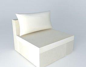 3D model Fireside IBIZA beige houses the world