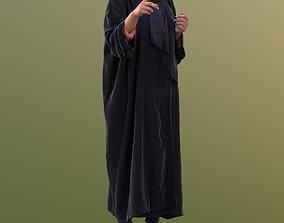 3D asset Amaya 10535 - Standing Traditional Woman