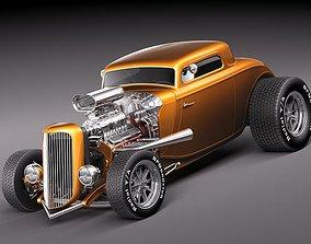 3D HotRod 1933