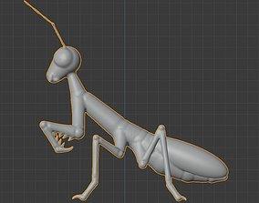 3D model Mantis creature