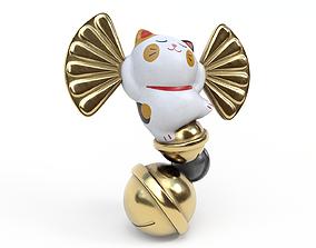 3D model Lucky fortune cat