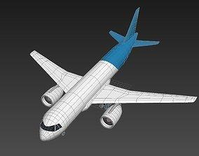 3D model Irkut MS-21 Airplane