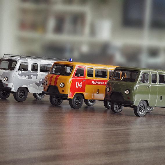 toy cars UAZ