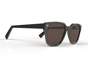 Anatomically correct sunglasses 3D model
