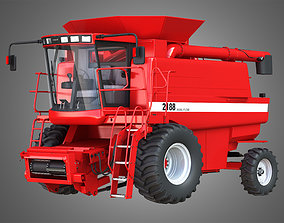 3D Case IH 1688 Combine Without the front part