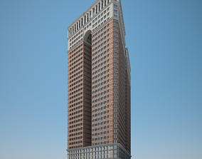 3D model Skyscraper 02