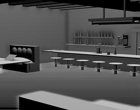 Pub Bar 3D