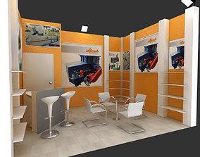 3D model Adm exhibition stand design