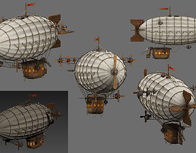 3D asset airship