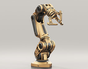 Robot Arm 3 RIGGED and Animated 3D