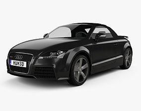 audi Audi TT RS roadster 2010 3D model