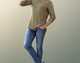 3D model Simon 10079 - Walking Casual Man