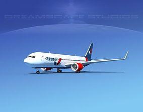 Boeing 767-300 Azur Air 3D model