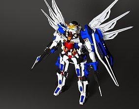 Gundam 3D asset