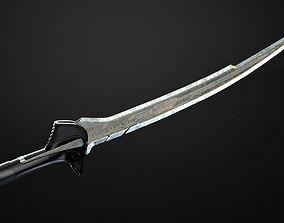 Sword of Alita from Alita Battle Angel 3D printable model