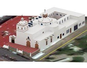 3D model Iglesia de San Francisco