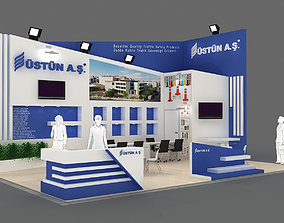 3D Exhibition Stand - ST0027