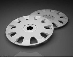 Wheel hub cap 3D