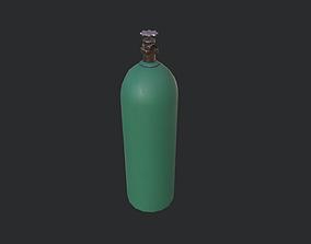 3D model VR / AR ready Oxygen Cylinder