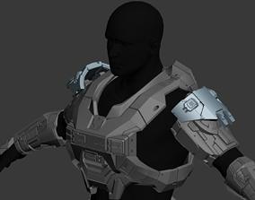 Reach Recon Shoulder Wearable 3D Print Model