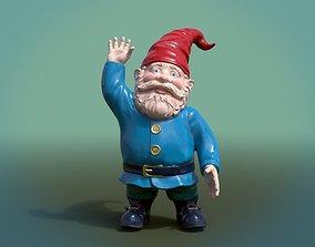 3D asset Garden Gnome PBR