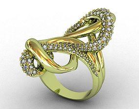 Diamond Ring design 3D print model