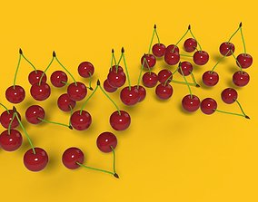3D model Cherries
