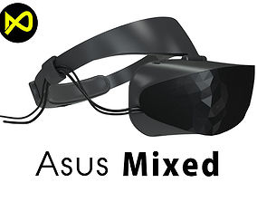 3D ASUS Windows Mixed Reality Headset